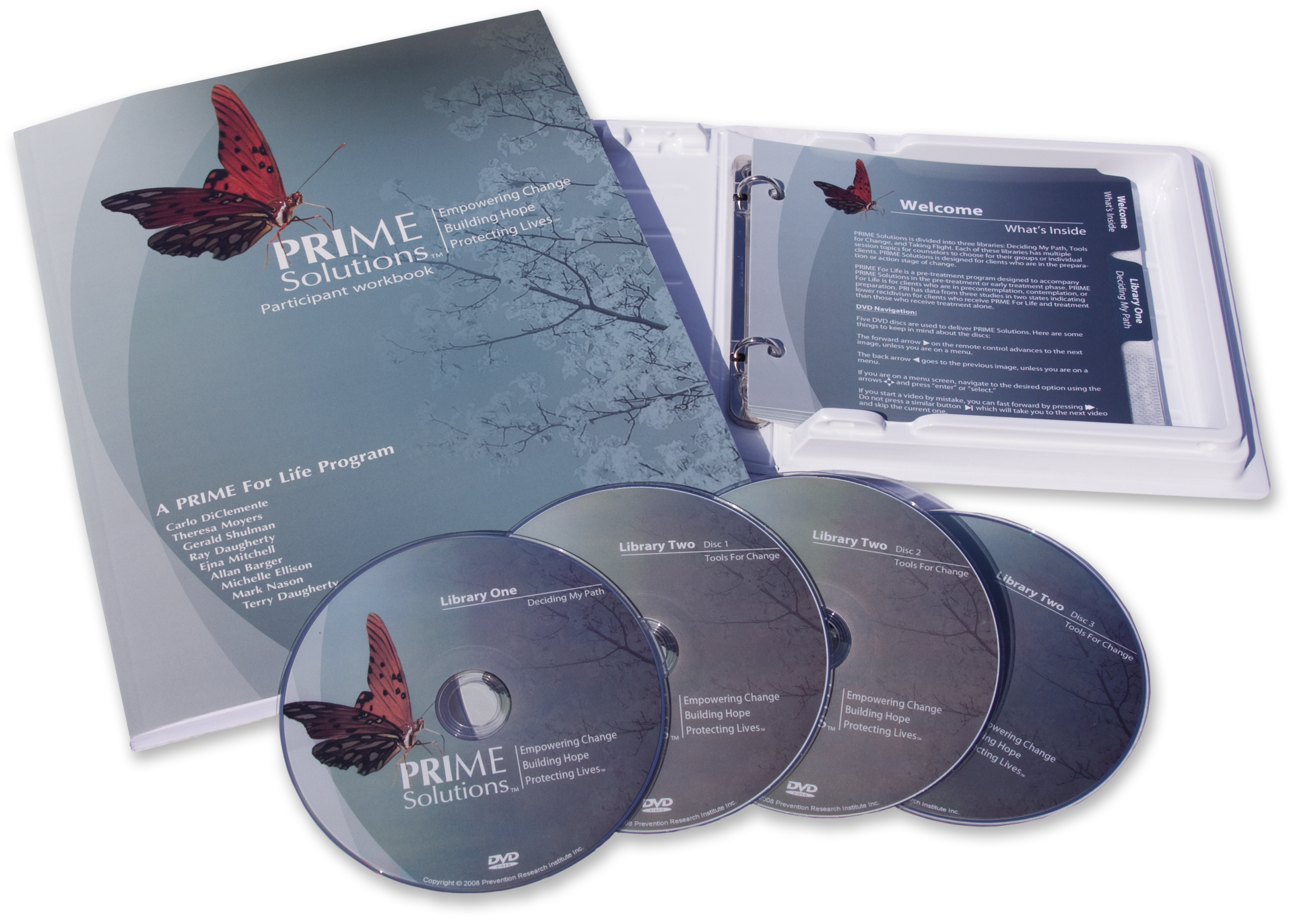 Prime For Life Training materials